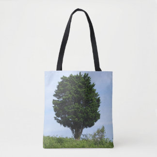 Mighty Cedar Tote Bag