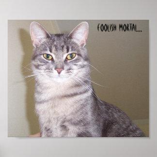 Mighty Feline, Foolish mortal... Poster