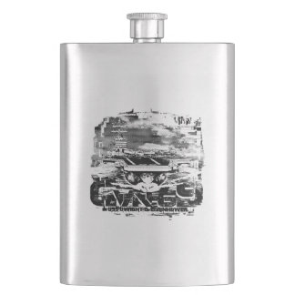 Mighty Ike Classic Flask
