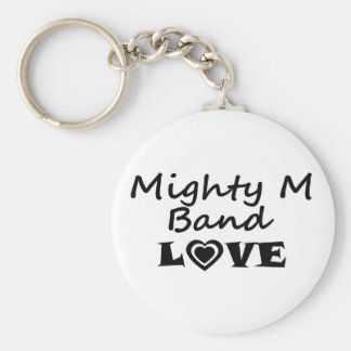 Mighty M Band Love Key Chain