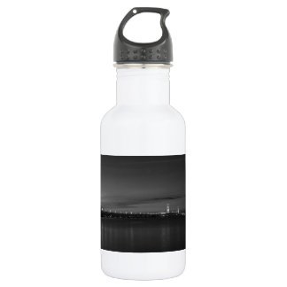 Mighty Mac At Night Pano Grayscale 532 Ml Water Bottle