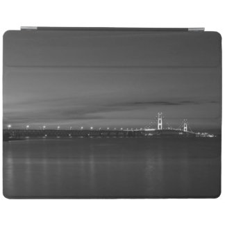Mighty Mac At Night Pano Grayscale iPad Cover