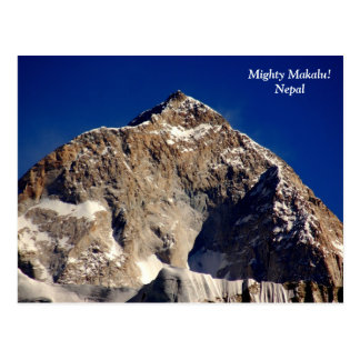 Mighty Makalu Postcard