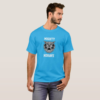 Mighty Mohave - Teal Wildcat Logo Men's t-shirt