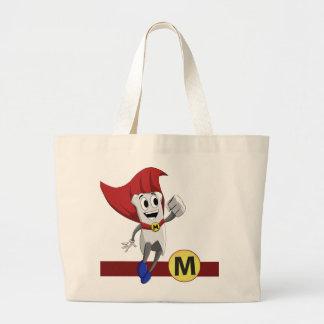 Mighty MolarMan® Jumbo Tote Jumbo Tote Bag
