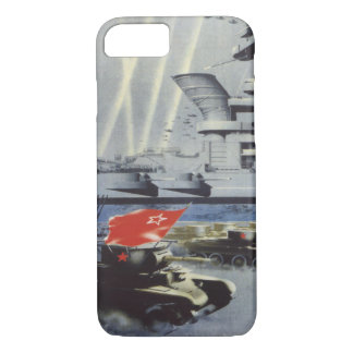 Mighty Red Army iPhone 7 Case