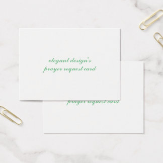mighty standard matte business card