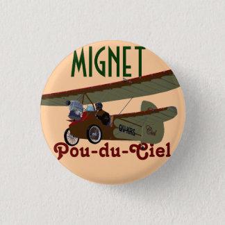 Mignet Pou-du-Ciel KRS 3 Cm Round Badge