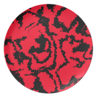 migraine red (C) Dinner Plate