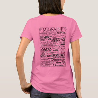 Migraine Tee Ladies Light Colors