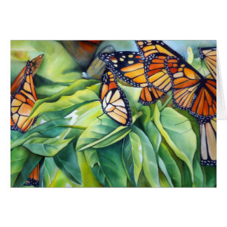 Migration of the Monarch Morning Light Card