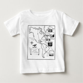 migrations of the golden plover baby T-Shirt
