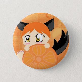 Mika Sky 6 Cm Round Badge
