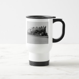 Mikado 2-8-2 Vintage Steam Engine Train Travel Mug