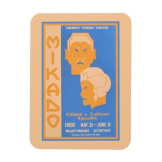 Mikado Gilbert & Sullivan operetta Magnet