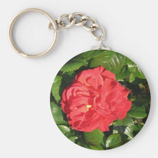Mikado Hybrid Tea Rose 007 Key Chains