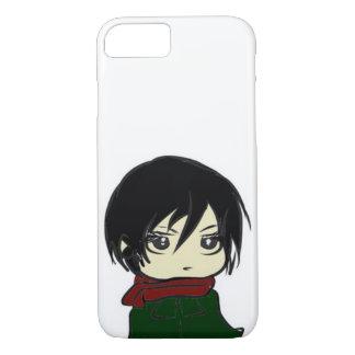 Mikasa Ackerman Chibi Phone Case