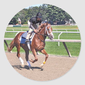 Mike Dilger Filly Classic Round Sticker
