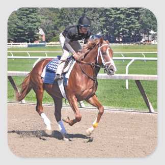Mike Dilger Filly Square Sticker