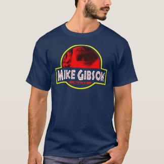 Mike Gibson, Dark Blue & Red Logo T-Shirt