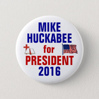 Mike Huckabee 2016 6 Cm Round Badge