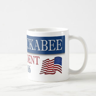 Mike Huckabee 2016 American Flag Coffee Mug