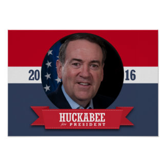 MIKE HUCKABEE 2016 PRINT