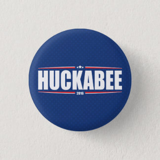 Mike Huckabee 2016 (Stars & Stripes - Blue) 3 Cm Round Badge