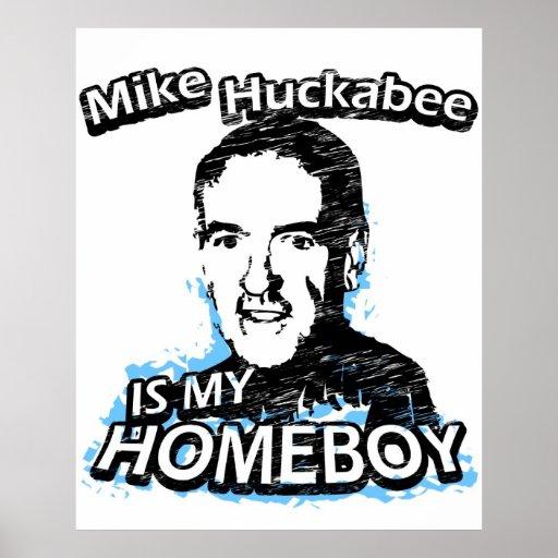 Mike Huckabee is my homeboy Print