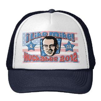 Mike Huckabee President 2012 Shirt Mesh Hats
