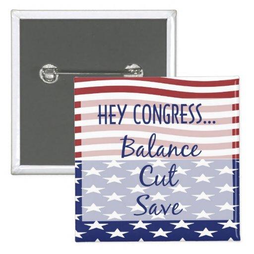 Mike Huckabee's Balance, Cut, Save Petition Button