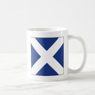Mike (M) Signal Flag Coffee Mug