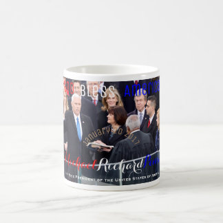 Mike Pence 48th Vice President of The USA Sworn In Coffee Mug
