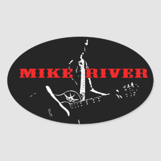 Mike River Sticker