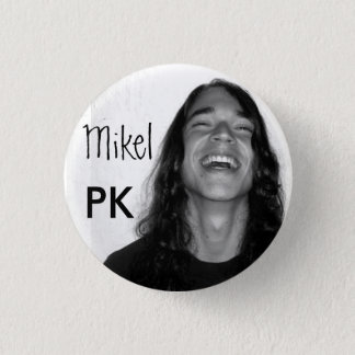Mikel on a button