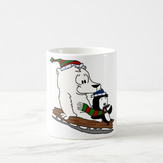 Mike's Doodles - Sleddin' (Mug) Coffee Mug