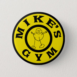 Mikes Gym 6 Cm Round Badge