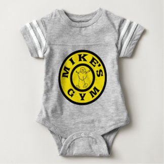 Mikes Gym Baby Bodysuit