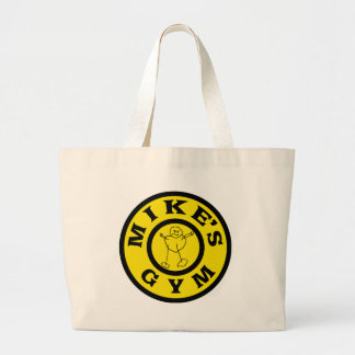 Mikes Gym Large Tote Bag