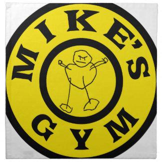 Mikes Gym Napkin
