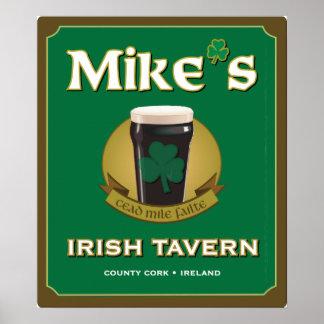 Mike's Irish Tavern Poster