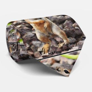 """""""Mikey"""" Ground Squirrel Men's Tie"""