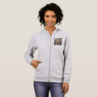 Mikey Ground Squirrel Women's Fleece Hoodie