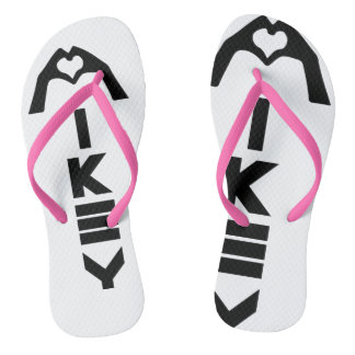 Mikey Shanley Pink/White Sandals