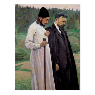 Mikhail Nesterov- The Philosophers Postcard