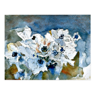 Mikhail Vrubel art: Flowers Postcard