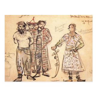Mikhail Vrubel- Captured Pechenegs Postcard