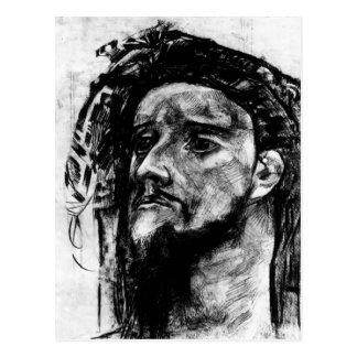 Mikhail Vrubel- Head of Prophet Post Card