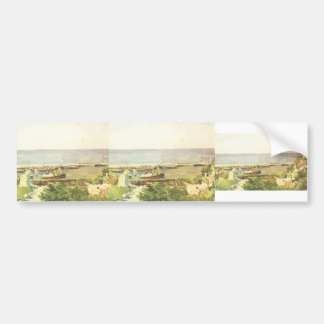 Mikhail Vrubel- Odessa harbour Bumper Stickers