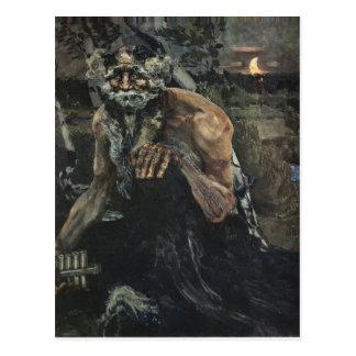 Mikhail Vrubel- Pan Postcard